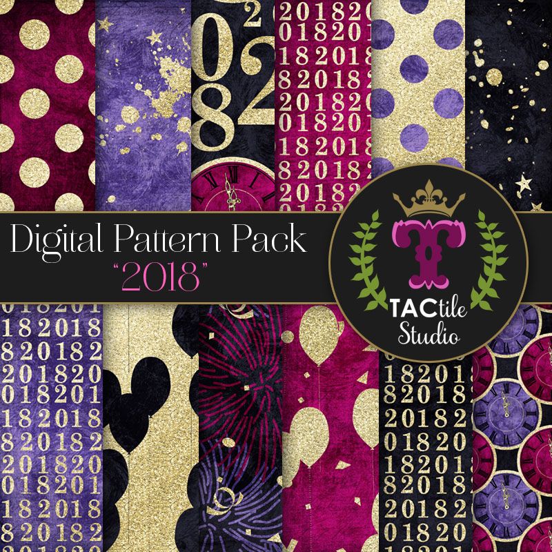 2018 Digital Paper Pack