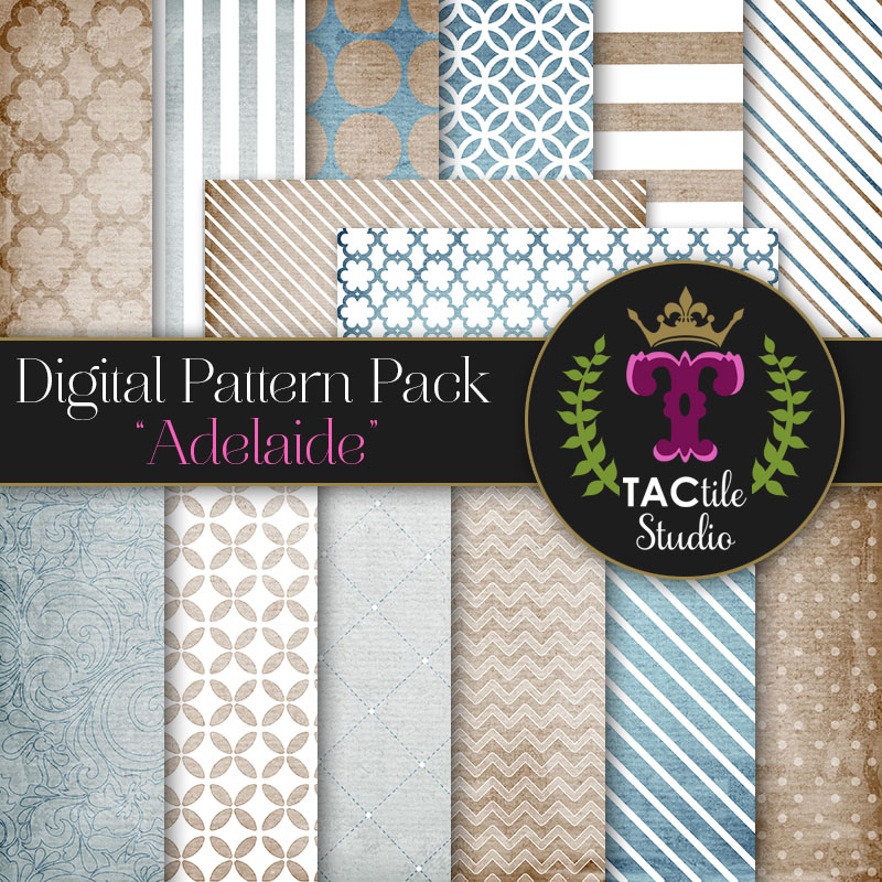 Adelaide Digital Paper Pack