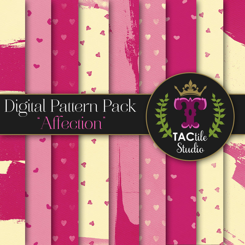 Affection Digital Paper Pack