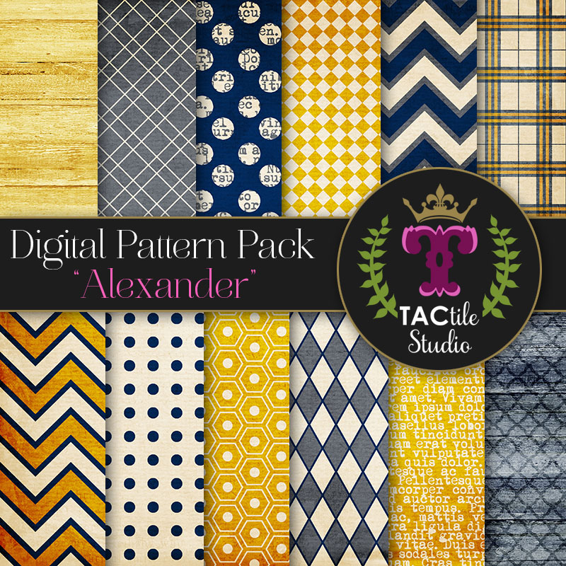 Alexander Digital Paper Pack