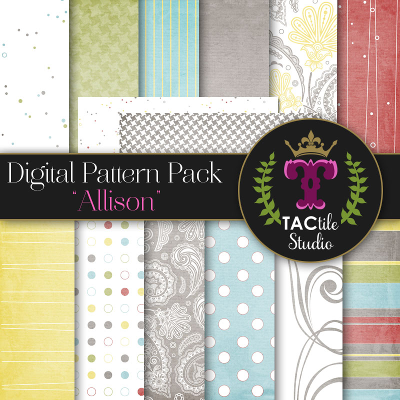 Allison Digital Paper Pack
