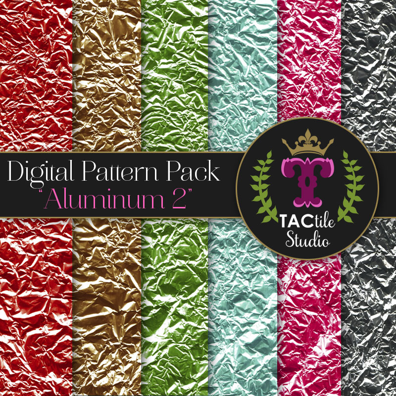 Aluminum 2 Digital Paper Pack