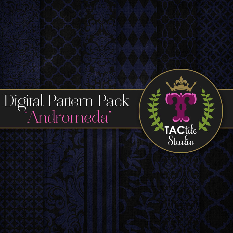 Andromeda Digital Paper Pack