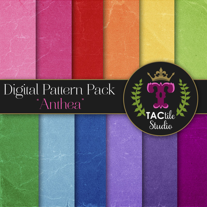 Anthea Digital Paper Pack