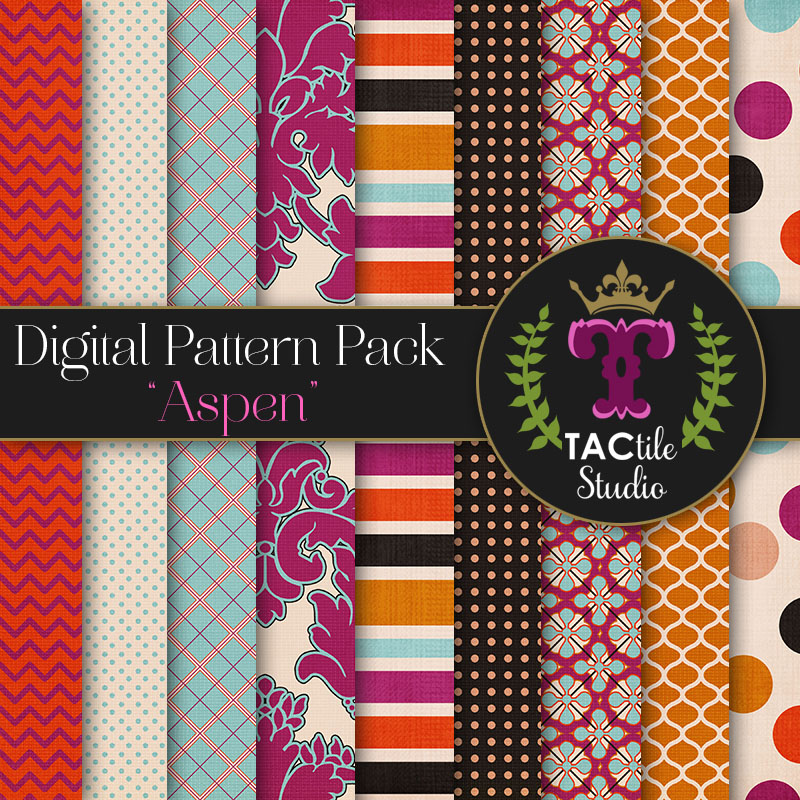 Aspen Digital Paper Pack