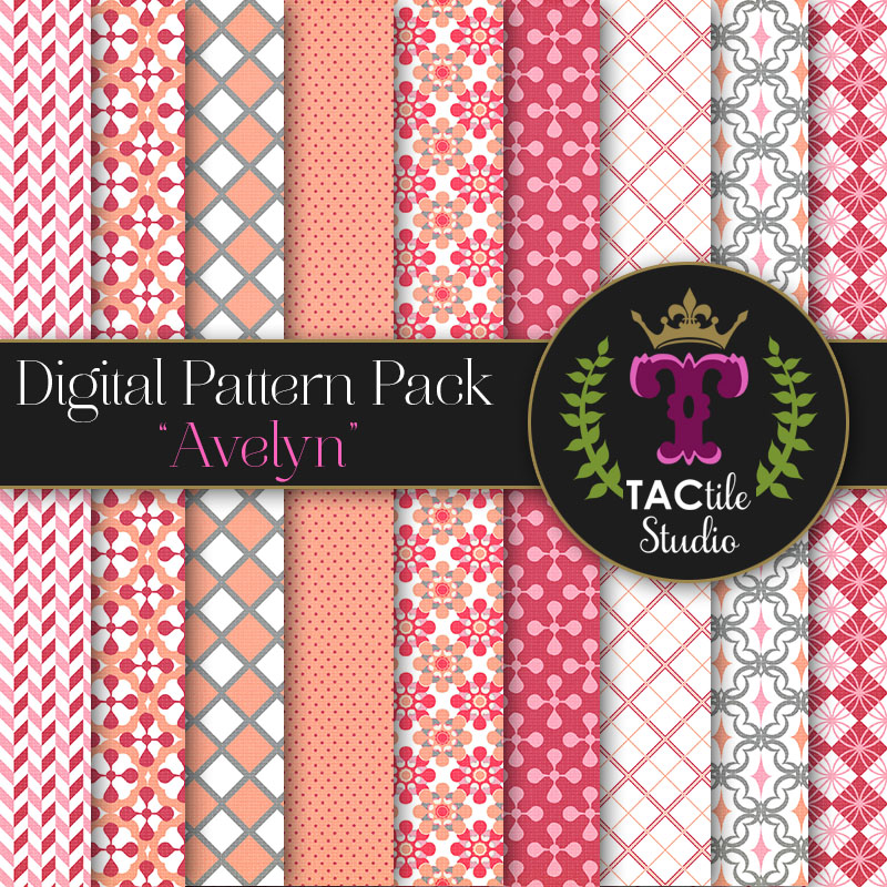 Avelyn Digital Paper Pack