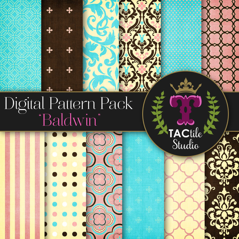 Baldwin Digital Paper Pack