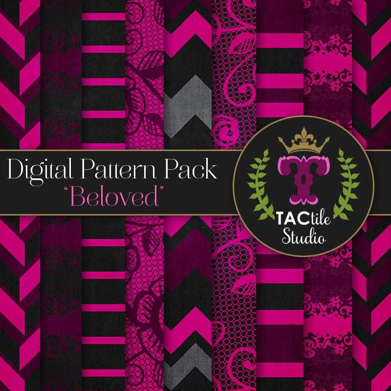Beloved Digital Paper Pack