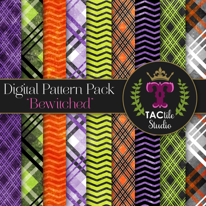 Bewitched Digital Paper Pack