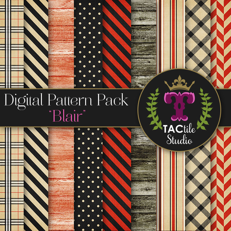 Blair Digital Paper Pack