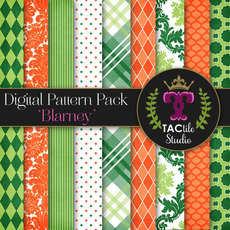 Blarney Digital Paper Pack
