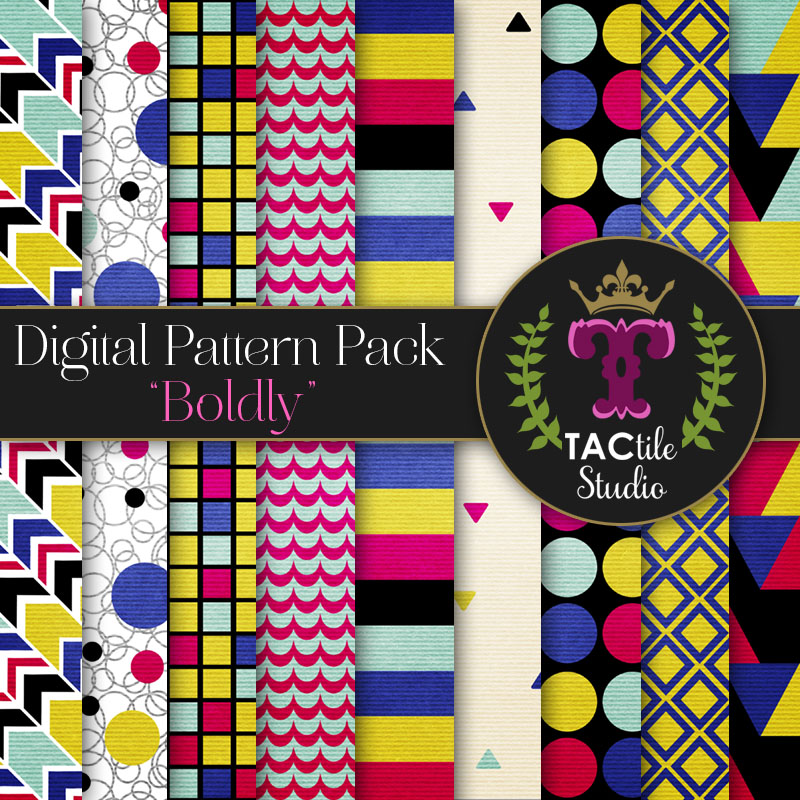 Boldly Digital Paper Pack