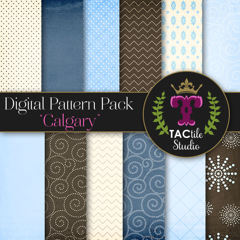 Calgary Digital Paper Pack