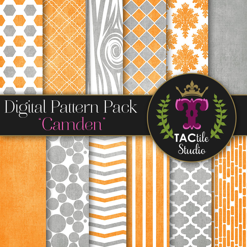 Camden Digital Paper Pack
