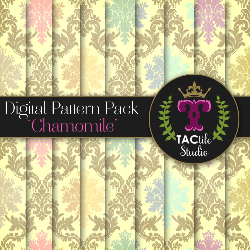 Chamomile Digital Paper Pack
