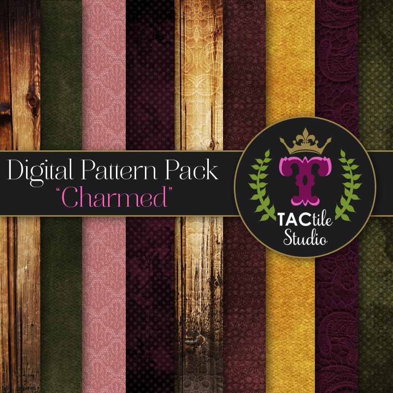 Charmed Digital Paper Pack