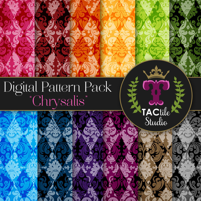 Chrysalis Digital Paper Pack