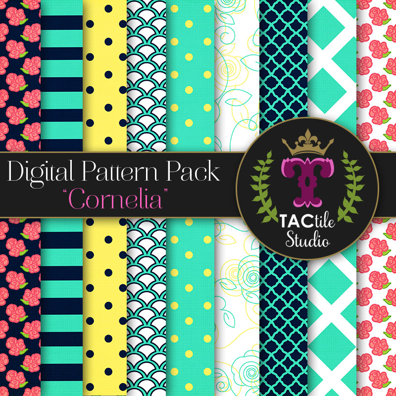 Cornelia Digital Paper Pack