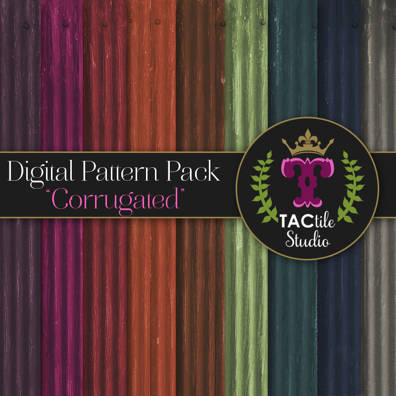 Corrugated Digital Paper Pack