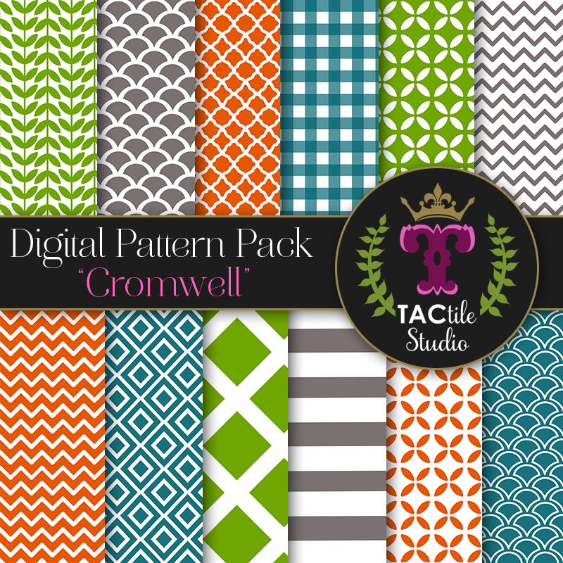 Cromwell Digital Paper Pack
