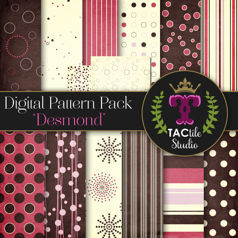 Desmond Digital Paper Pack