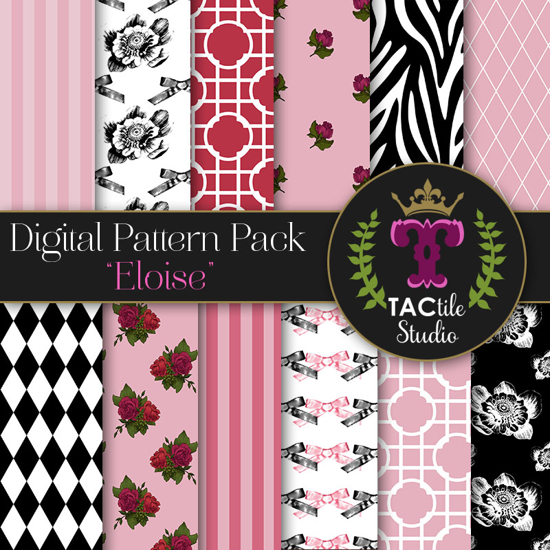 Eloise Digital Paper Pack
