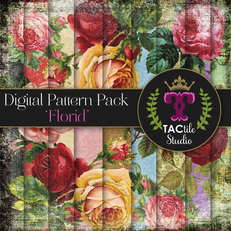 Florid Digital Paper Pack