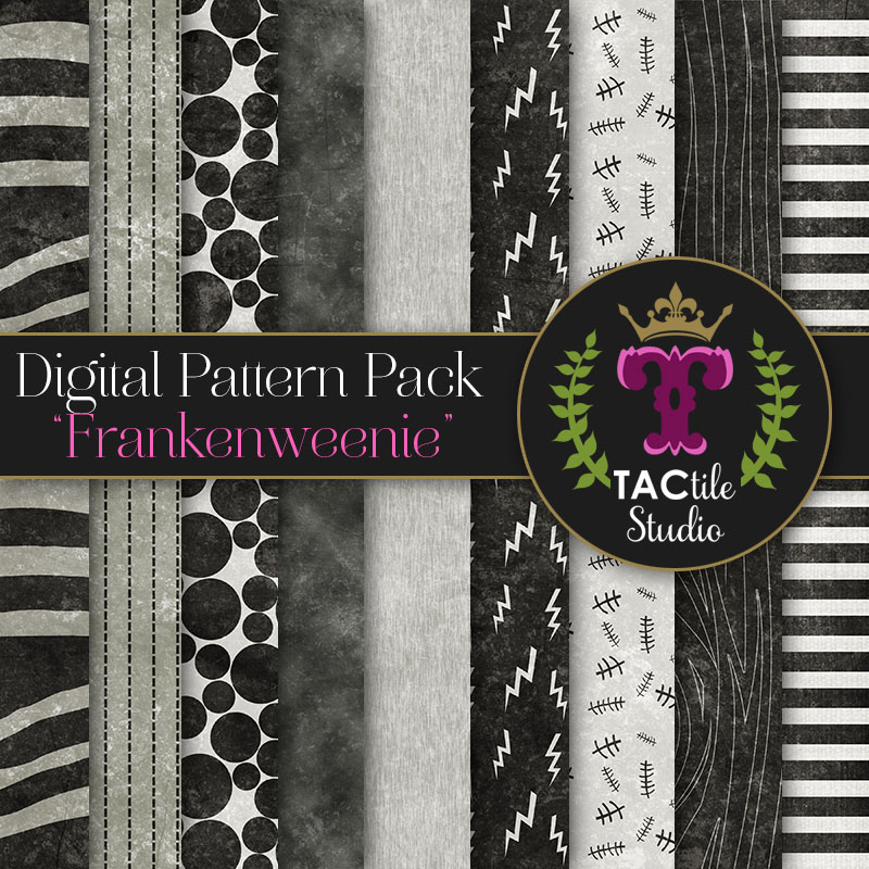 Frankenweenie Digital Paper Pack