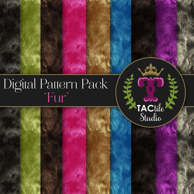 Fur Digital Paper Pack
