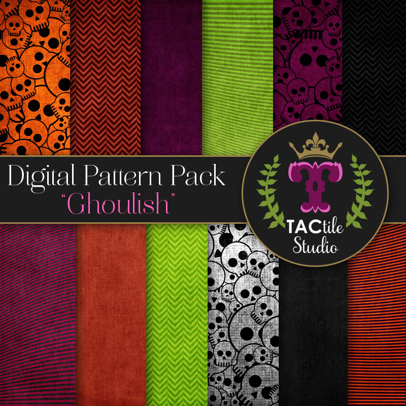 Ghoulish Digital Paper Pack
