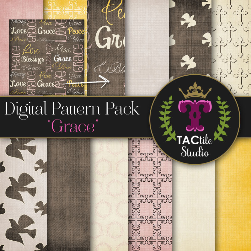 Grace Digital Paper Pack