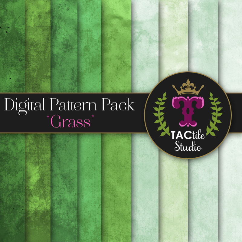 Grass Digital Paper Pack