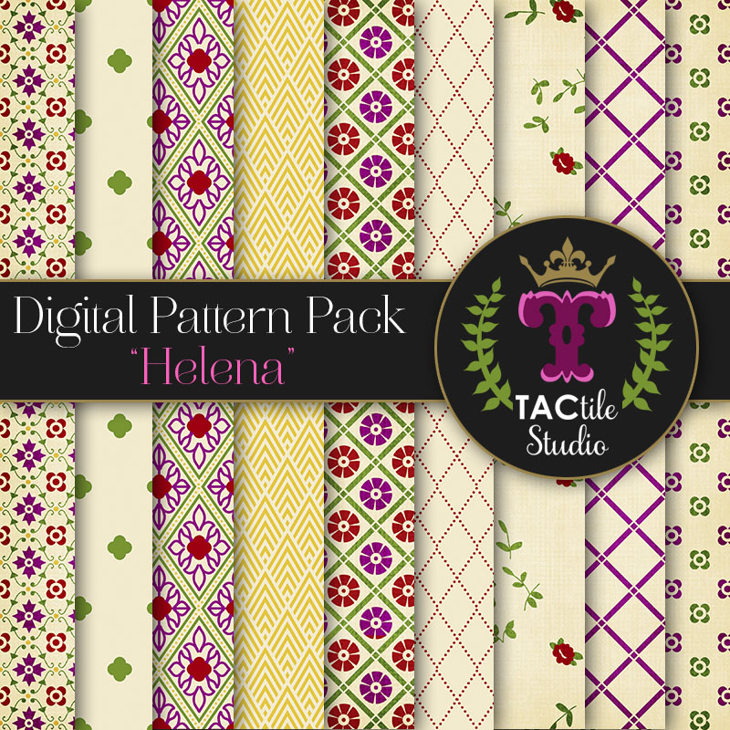 Helena Digital Paper Pack