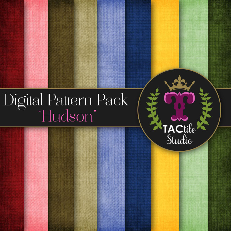 Hudson Digital Paper Pack