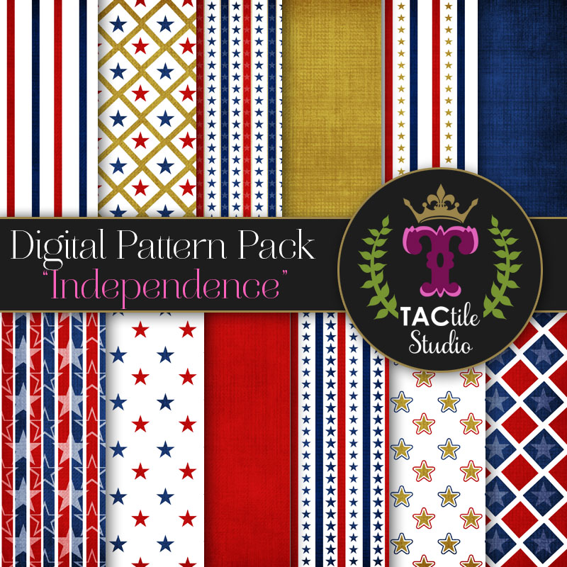 Independence Digital Paper Pack