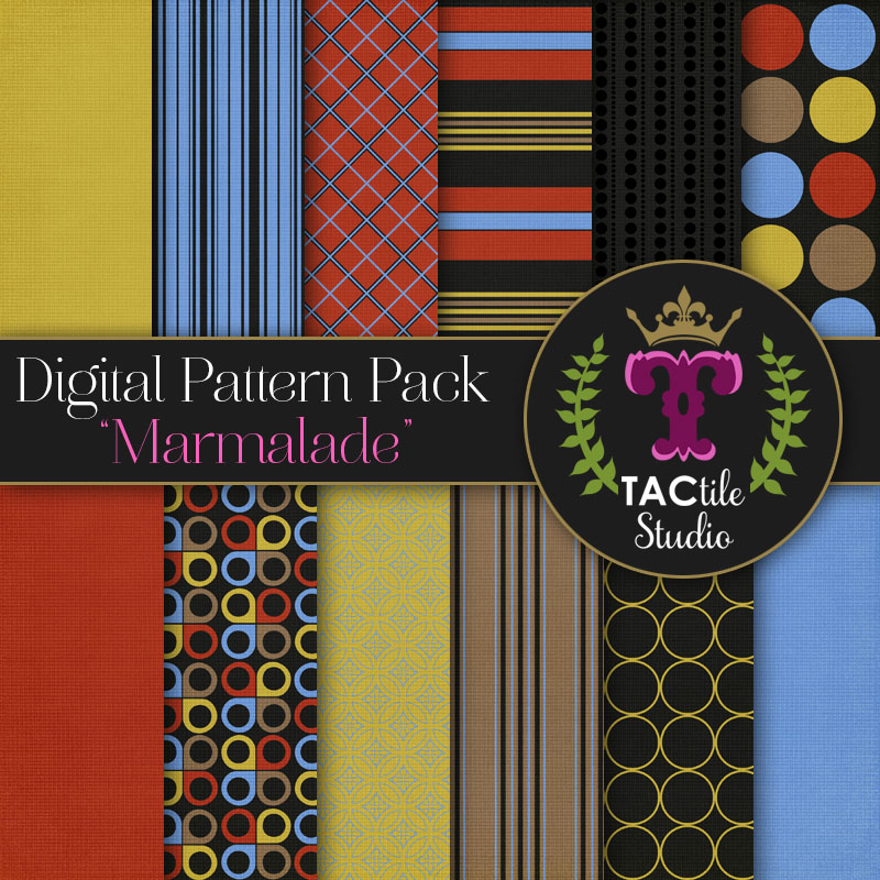Marmalade Digital Paper Pack