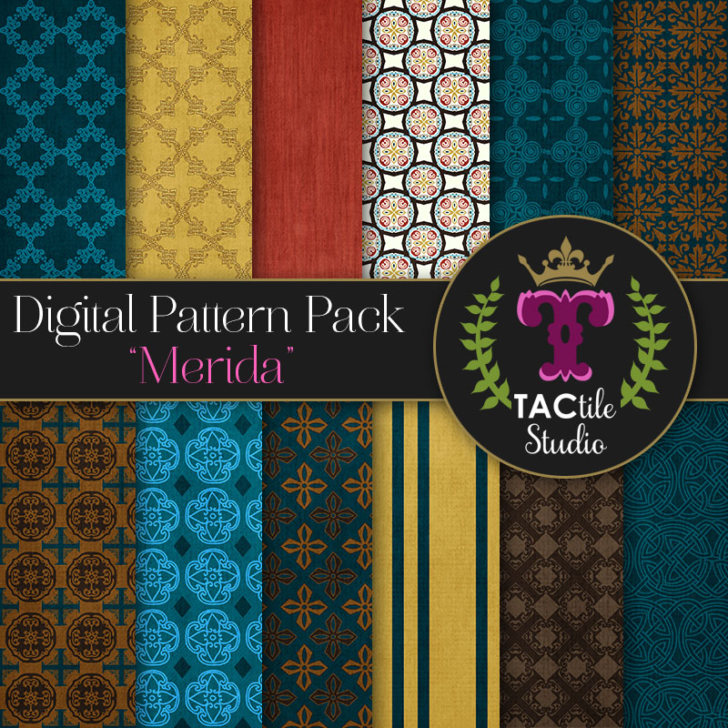 Merida Digital Paper Pack