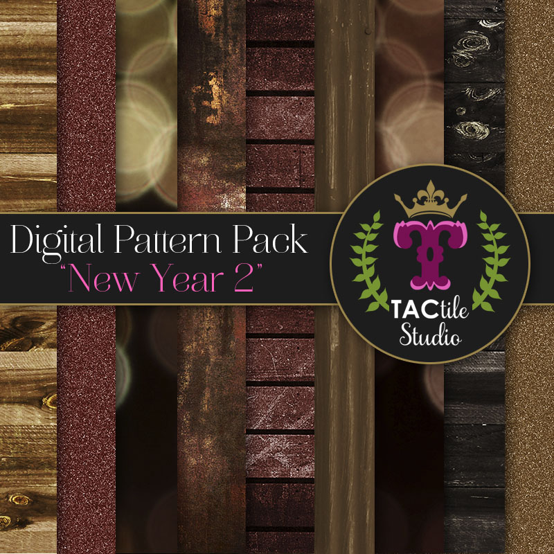 New Year 2 Digital Paper Pack
