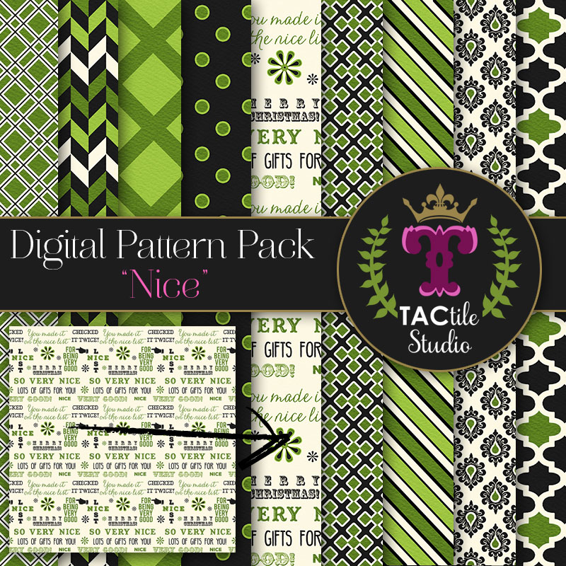 Nice Digital Paper Pack