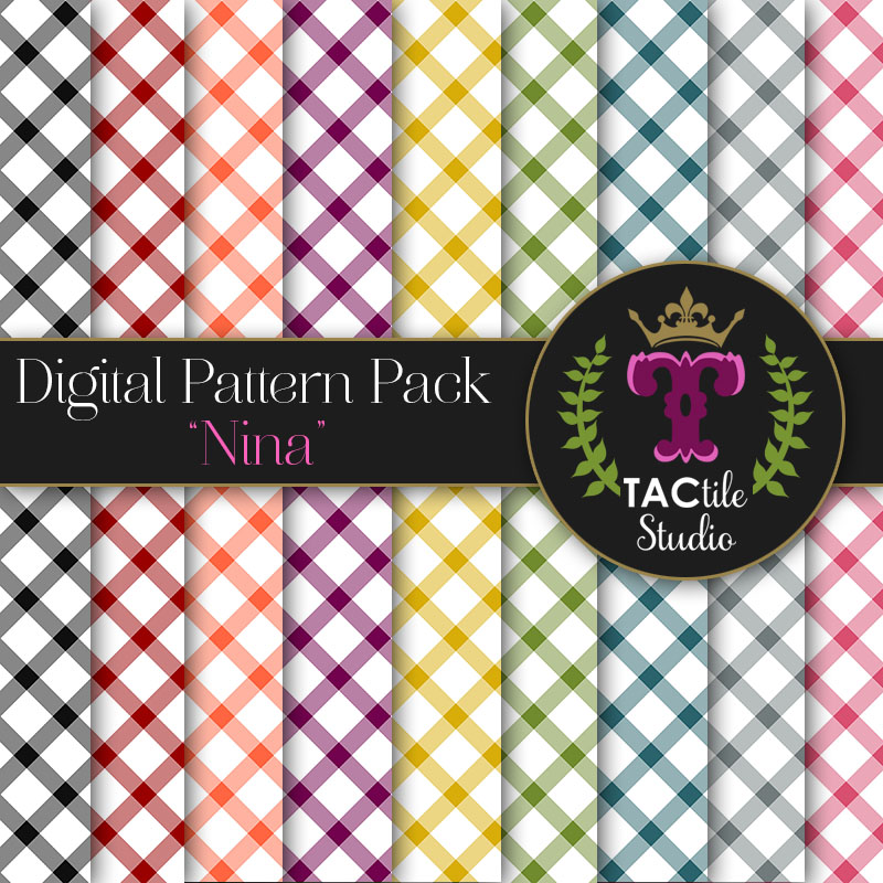 Nina Digital Paper Pack