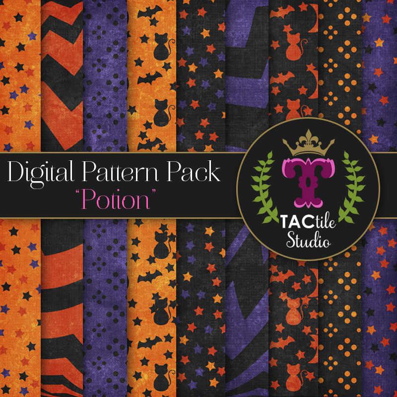 Potion Digital Paper Pack