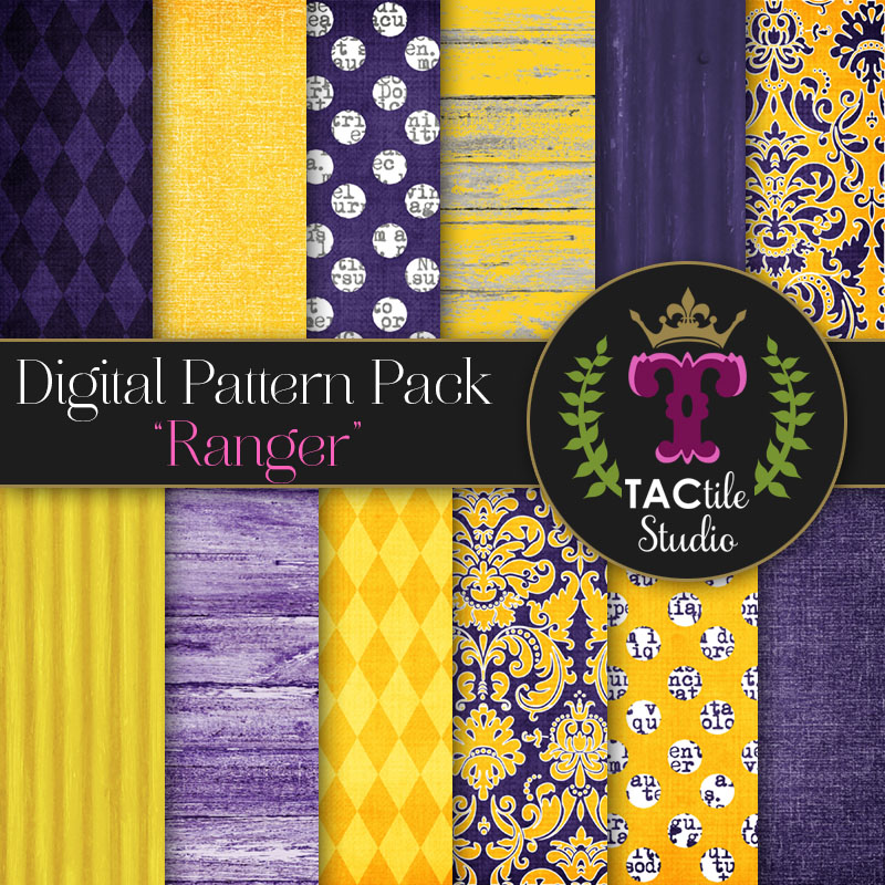 Ranger Digital Paper Pack
