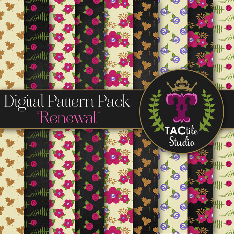 Renewal Digital Paper Pack