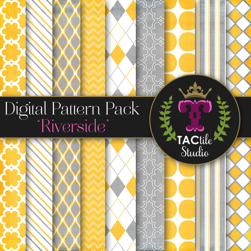 Riverside Digital Paper Pack