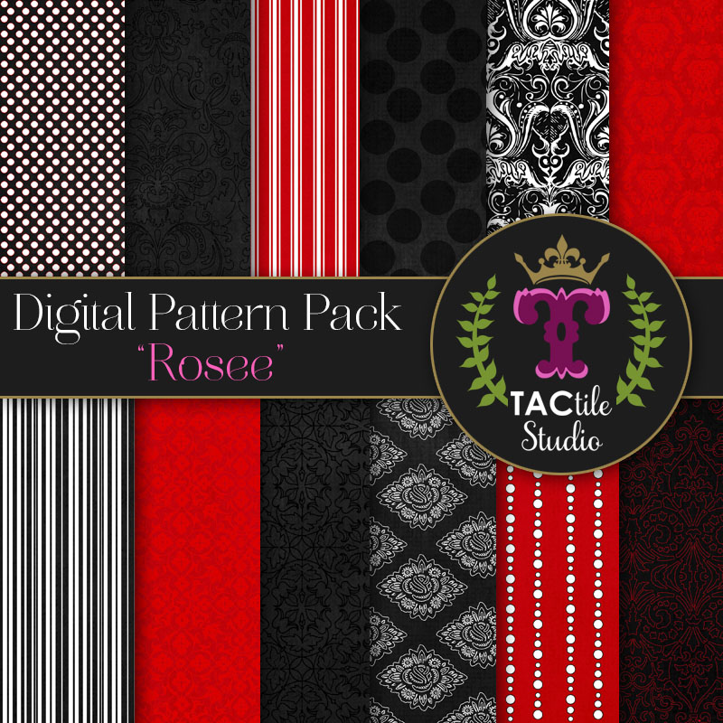 Rosee Digital Paper Pack
