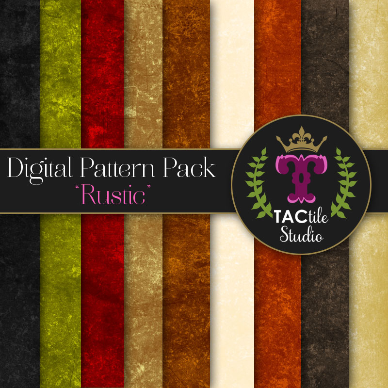 Rustic Digital Paper Pack