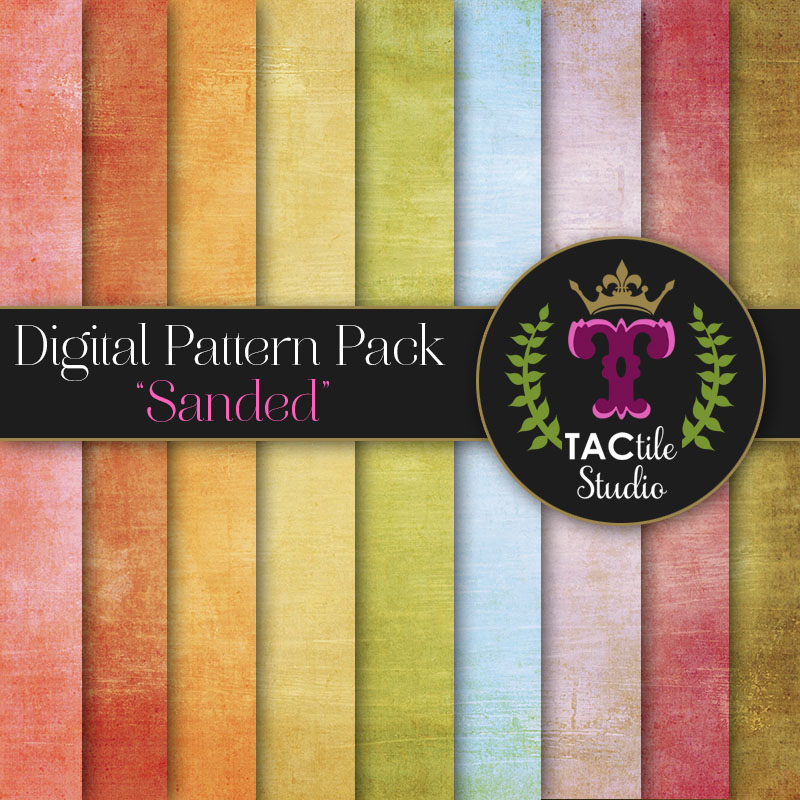 Sanded Digital Paper Pack