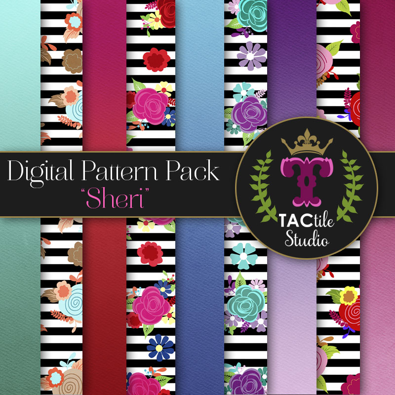 Sheri Digital Paper Pack