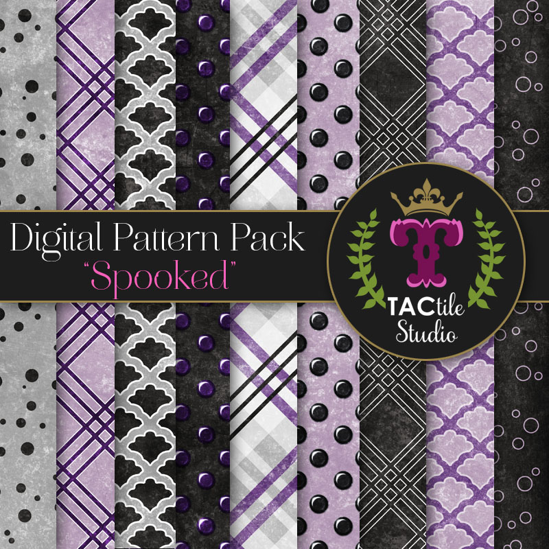 Spooked Digital Paper Pack