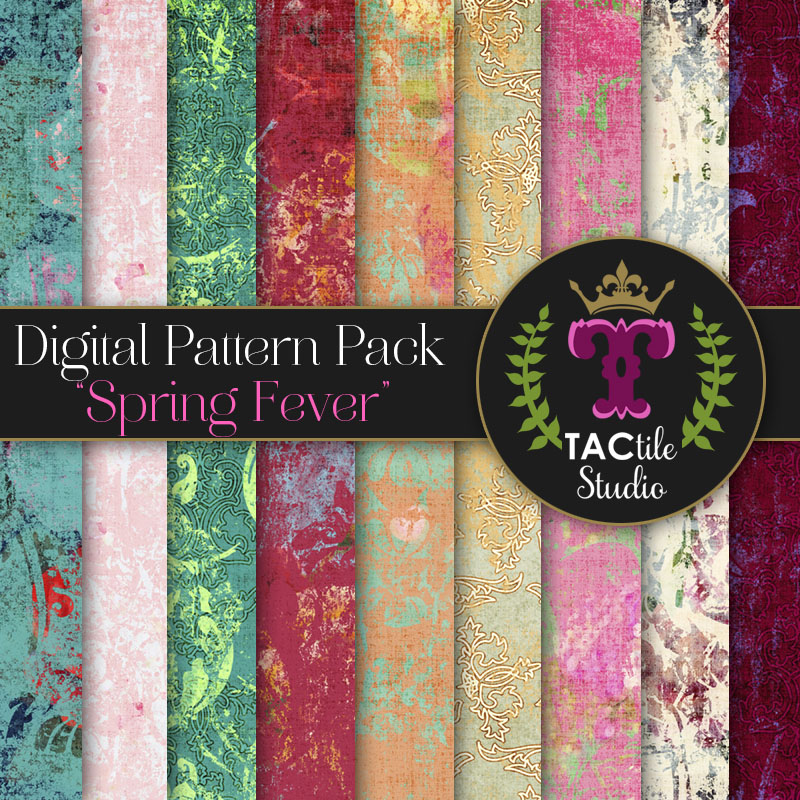 Spring Fever Digital Paper Pack